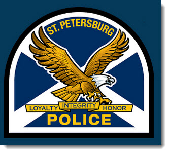 St. Pete police website