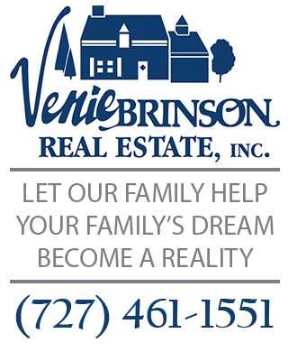 Venie Brinson Real Estate mobile text logo