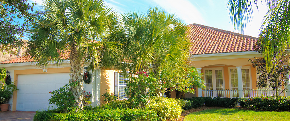 Clearwater florida neighborhood home